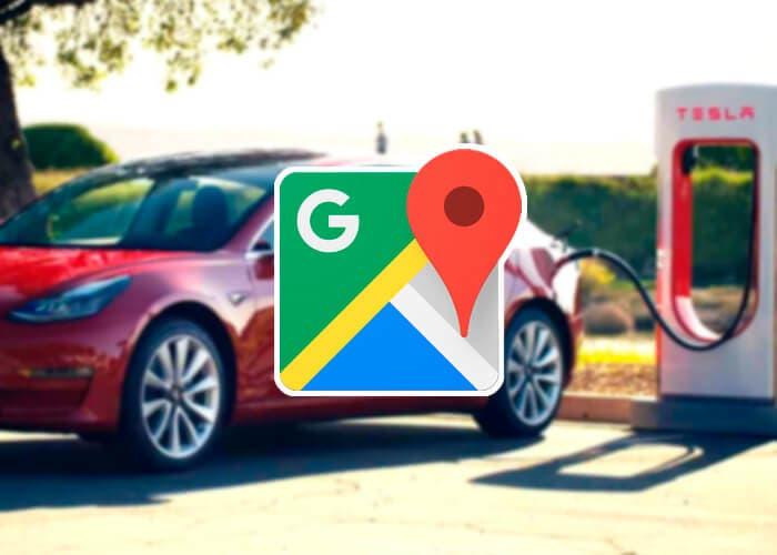 Google Maps te permite buscar cargadores eléctricos compatibles con tu coche