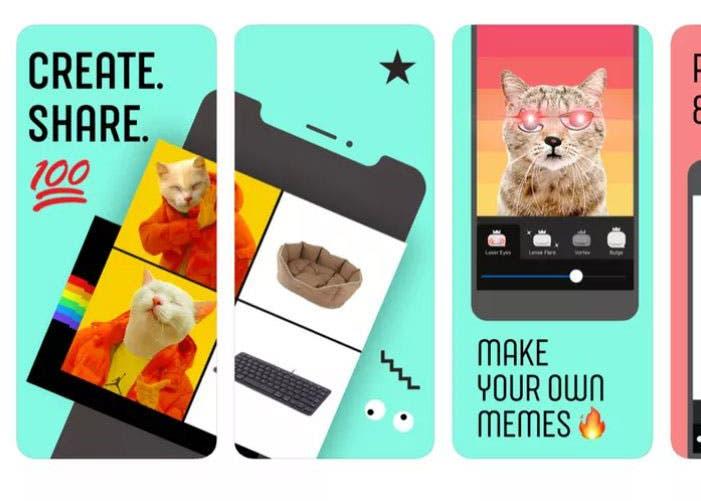 Facebook estrena una nueva app dedicada a los memes