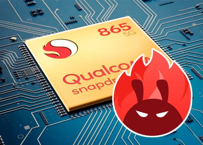 El Qualcomm Snapdragon 865 se pasea por AnTuTu reventando récords