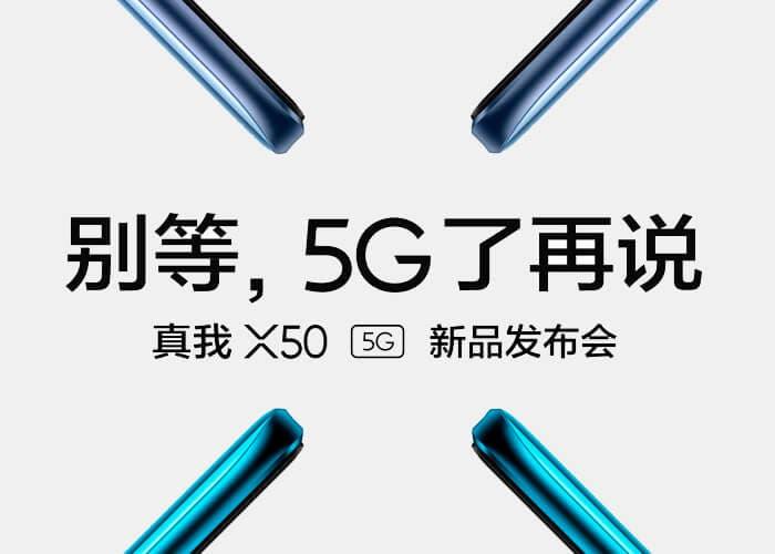 Confirmada la fecha de presentación del realme X50 5G