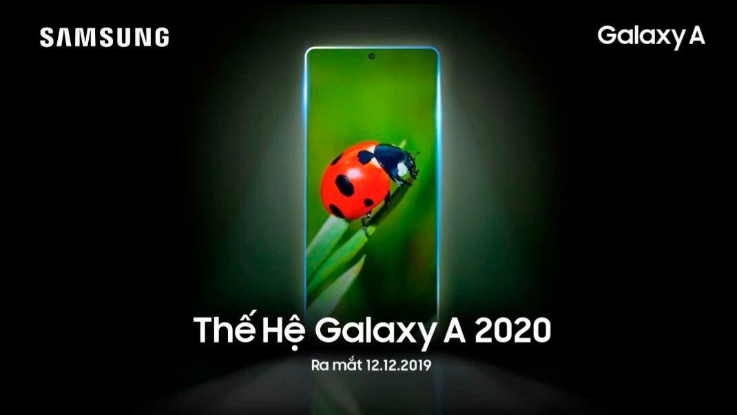 Samsung Galaxy A51 y A71 presentación