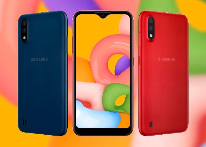 samsung galaxy a01 oficial - Galaxy A01, el miembro que se suma a la serie de Samsung