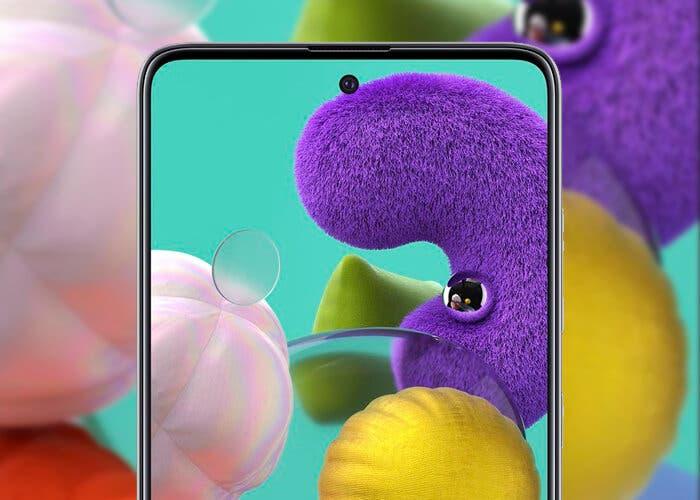 Esta es la primera imagen real del Samsung Galaxy A51