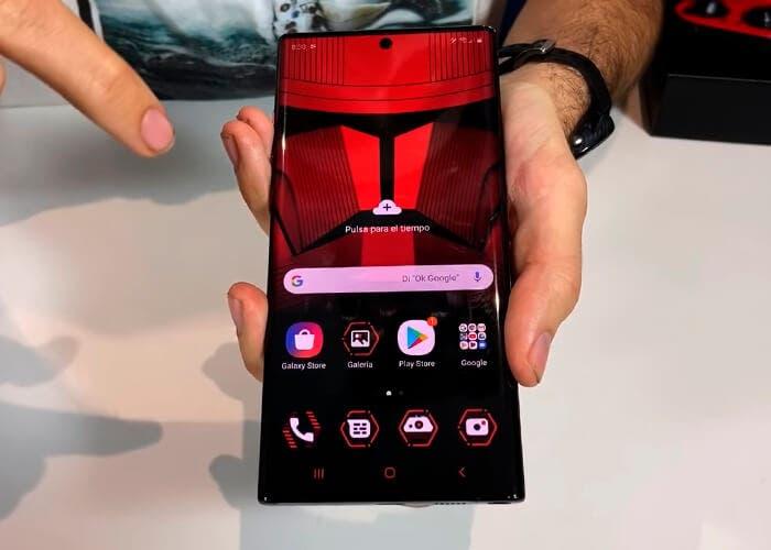 Descarga los fondos de pantalla exclusivos del Samsung Galaxy Note 10+ Star Wars Edition