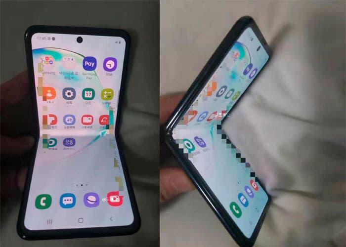 Filtradas las primeras imágenes reales del próximo teléfono plegable de Samsung
