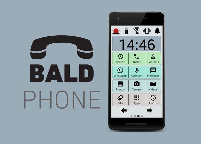 BaldPhone prepara el móvil para un uso más sencillo enfocado a los mayores