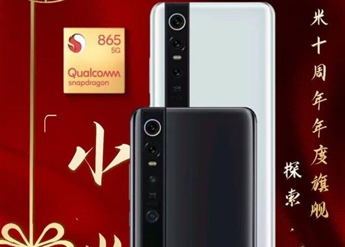 Xiaomi Mi 10: una nueva imagen desvela su diseño y la fecha de lanzamiento