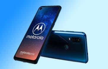 El Motorola One Vision comienza a recibir Android 10
