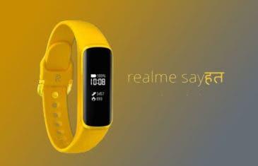 Aparece la primera imagen de la pulsera inteligente de Realme