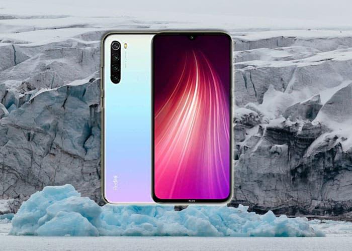 Xiaomi pone a prueba la resistencia del Redmi Note 8 en la Antártida