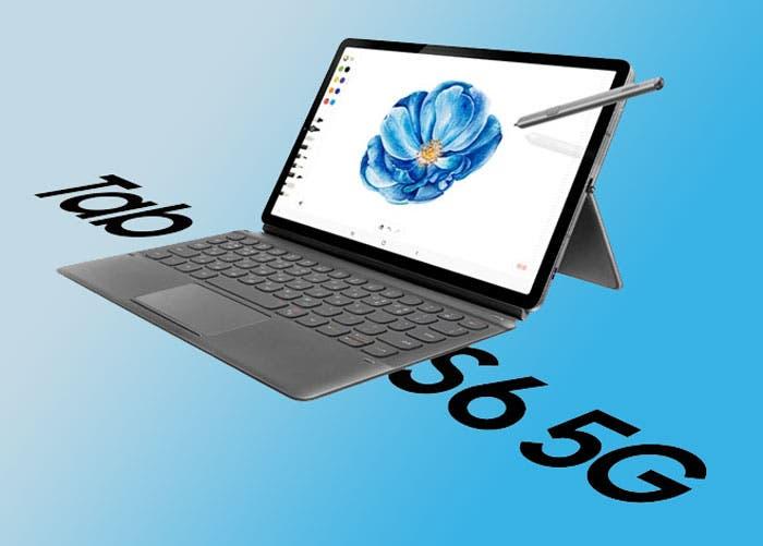 Samsung Galaxy Tab S6 5G: la primera tablet 5G se lanzará mañana