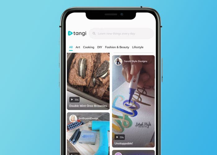 Así es Tangi: la nueva red social de Google que quiere parecerse a TikTok