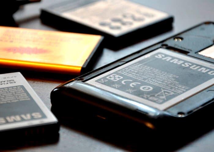 Batería de teléfonos