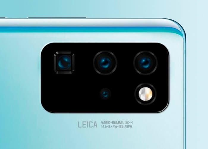 Cámara Huawei P40