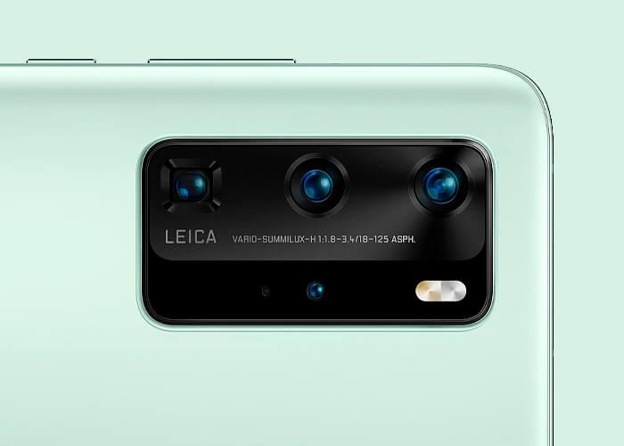 Detalles filtrados del Huawei P40: pantalla de 120 Hz y cámara de 52 megapíxeles