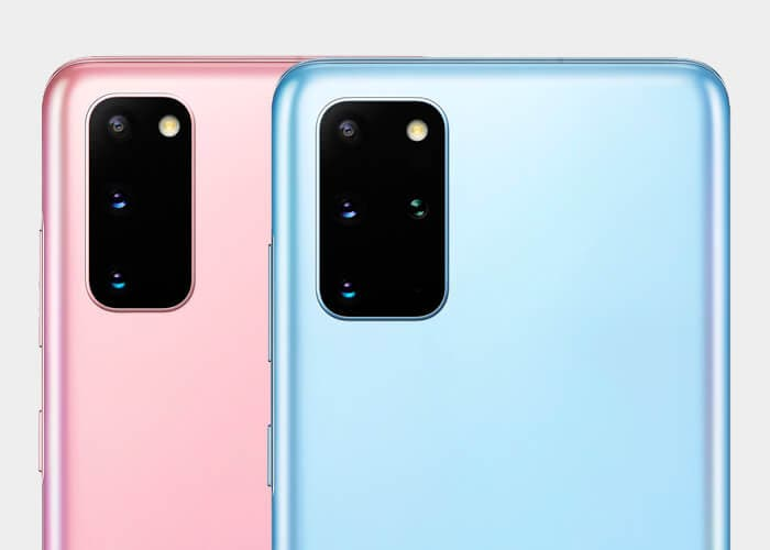Los Samsung Galaxy S20 y S20+ realmente no tendrán cámara zoom
