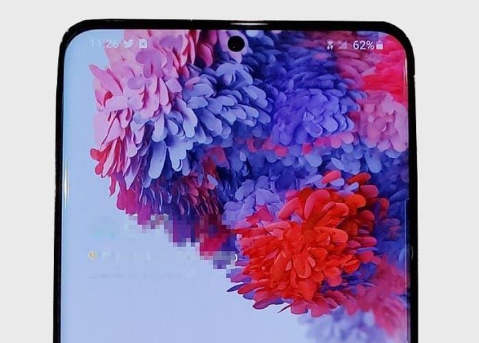 Una imagen real revela el diseño final del Samsung Galaxy S20+