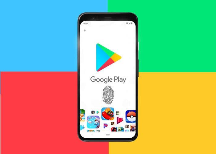 Cómo pagar en Google Play con el sensor de huellas