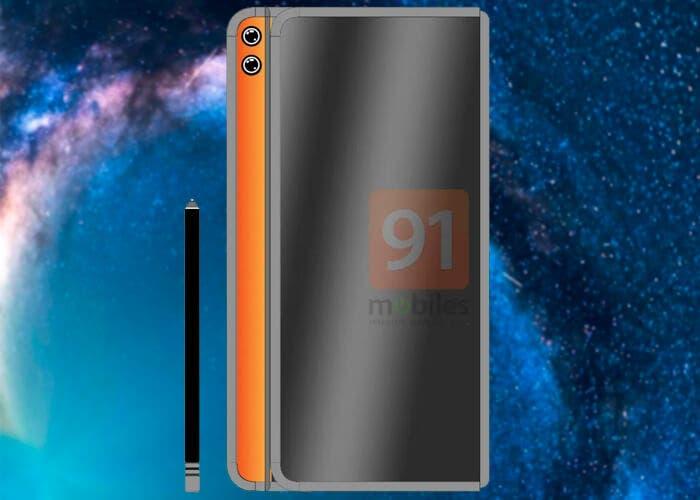 Así podría ser el diseño del Huawei Mate X2 ¡Con stylus!