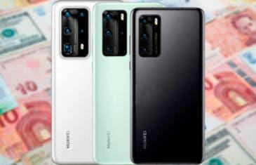¿Son estos los precios de todos los Huawei P40?