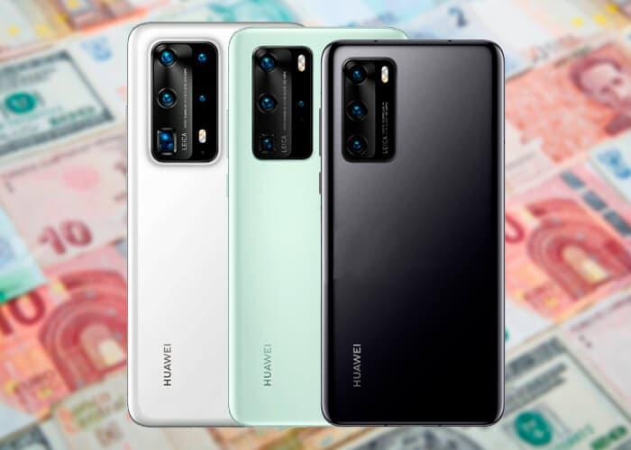 Huawei P40 series precio