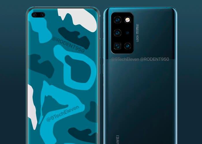 El Huawei P40 Pro también contará con una versión de cerámica