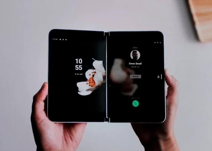 Así funcionará Android en las dos pantallas del Microsoft Surface Duo