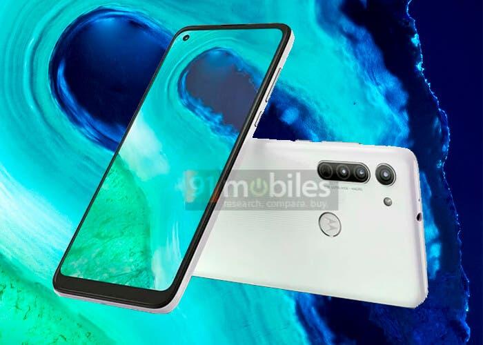 Filtrado el Motorola Moto G8 en imágenes de prensa: tendrá agujero en pantalla