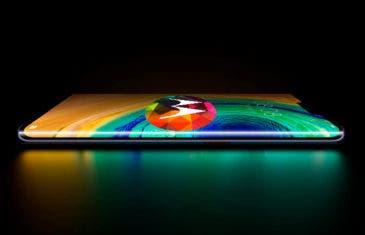 Motorola Edge+ ¿Un teléfono con pantalla en cascada?