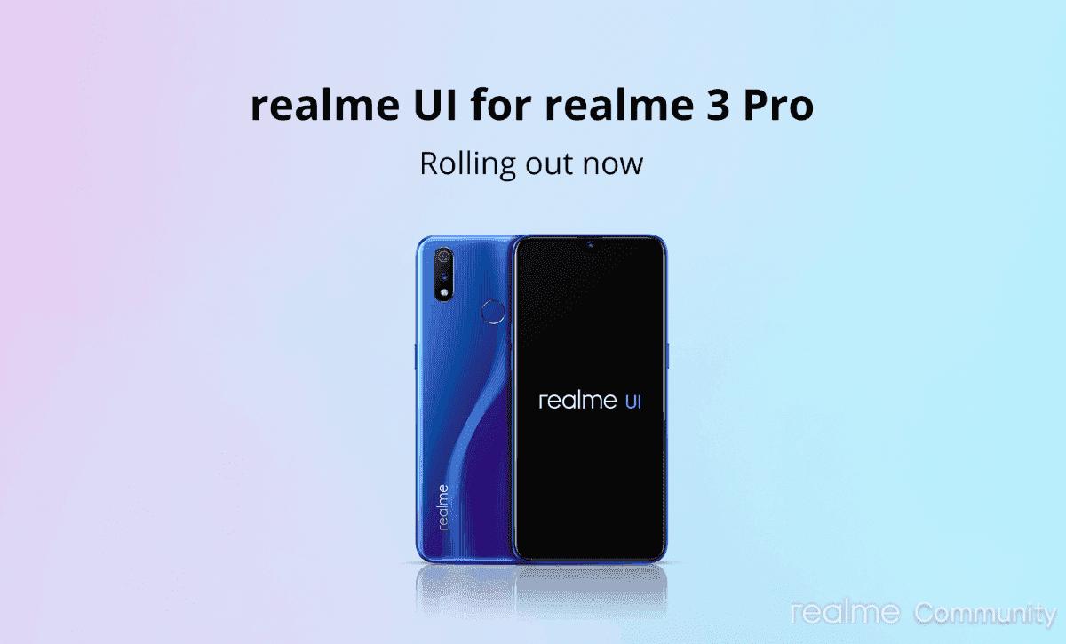El realme 3 Pro comienza a recibir Android 10 y realme UI