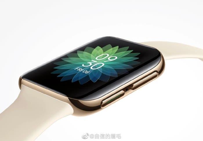 El primer reloj inteligente de Oppo es un clon del Apple Watch: conócelo