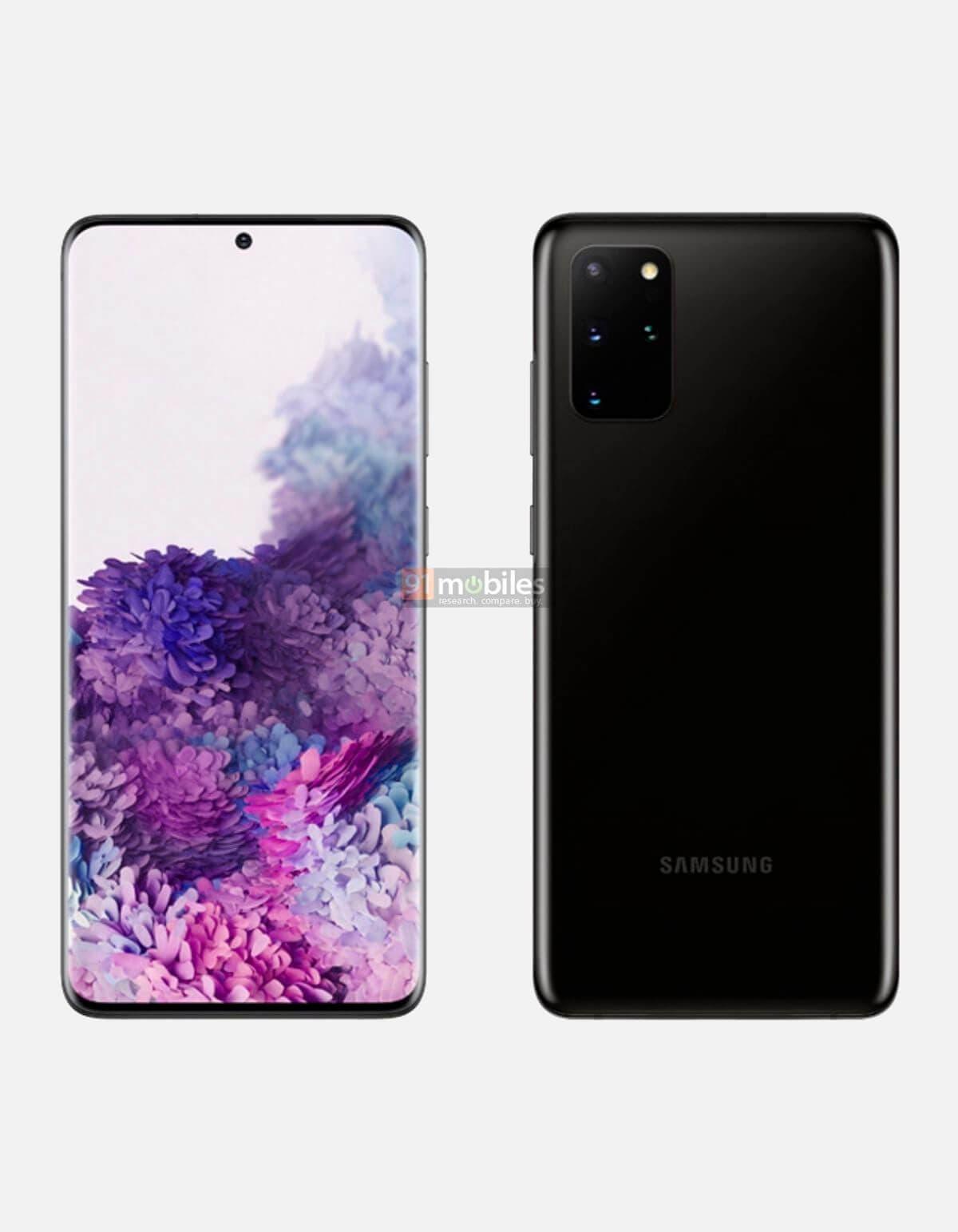Samsung Galaxy S20 negro