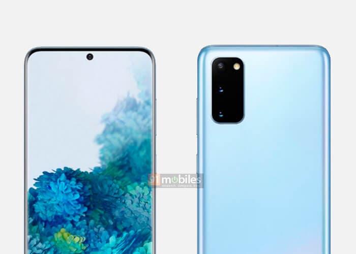 El Samsung Galaxy S20 aparece en imágenes de prensa y se confirma el precio