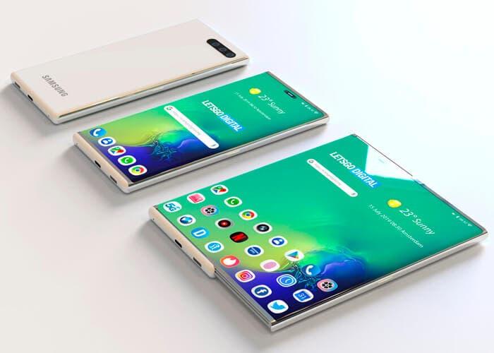 Samsung ha mostrado en privado su prototipo de teléfono con pantalla enrollable