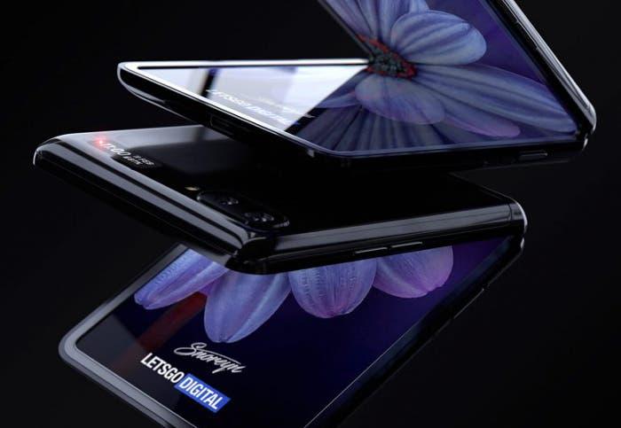 Echa un vistazo al Samsung Galaxy Z Flip, así se ve el diseño en el mejor render hasta la fecha