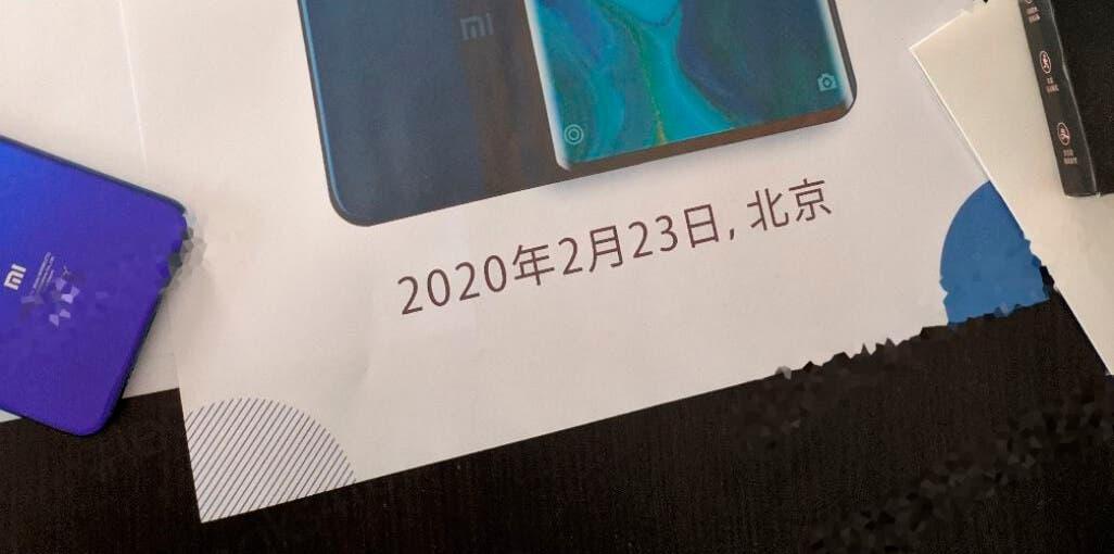 fecha Xiaomi Mi 10 Pro