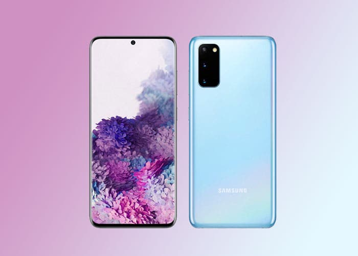 Samsung confirma el diseño del Galaxy S20 en la web oficial