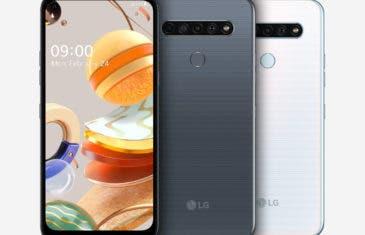 Nuevos móviles LG de gama baja: LG K61, LG K51S y LG K41S