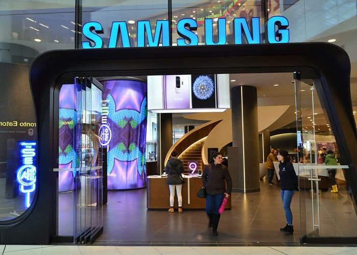 Samsung toma medidas con el coronavirus y cierra su tienda de Shanghai