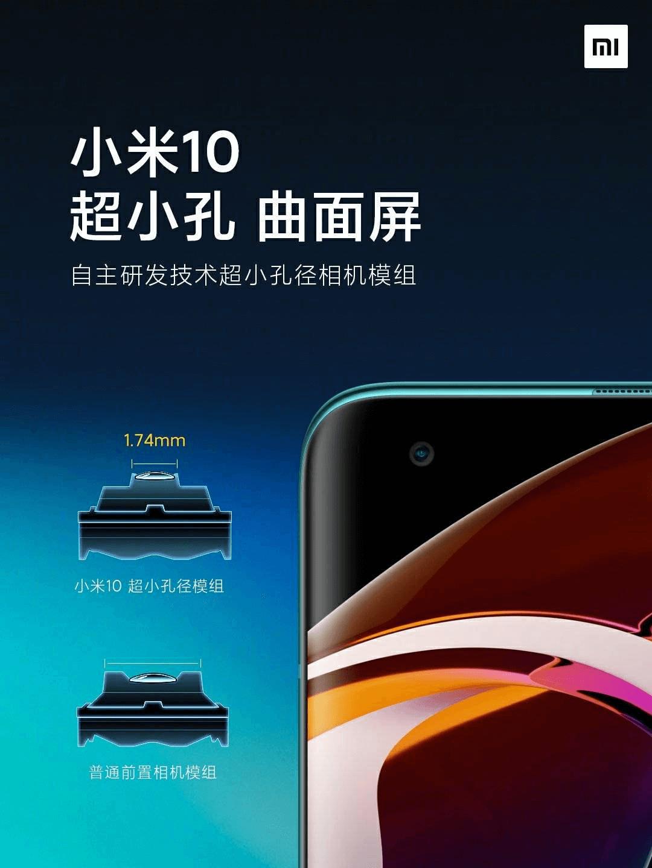 Agujero Xiaomi Mi 10