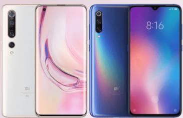 Xiaomi Mi 10 vs Xiaomi Mi 9 ¿Qué ha cambiado?