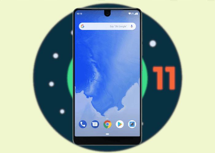 El Essential Phone podría ser el único móvil Android con 4 años de actualizaciones