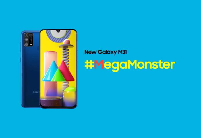 El Samsung Galaxy M31 es oficial: pantalla de 6,4″, 4 cámaras, 6.000 mAh y Android 10