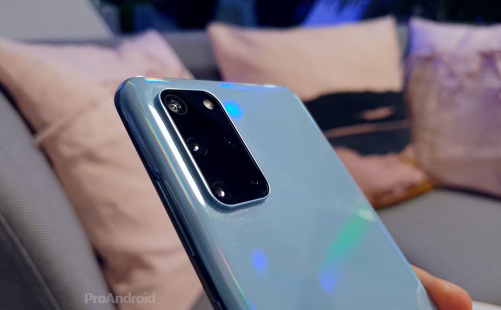 Cámara del Samsung Galaxy S20+