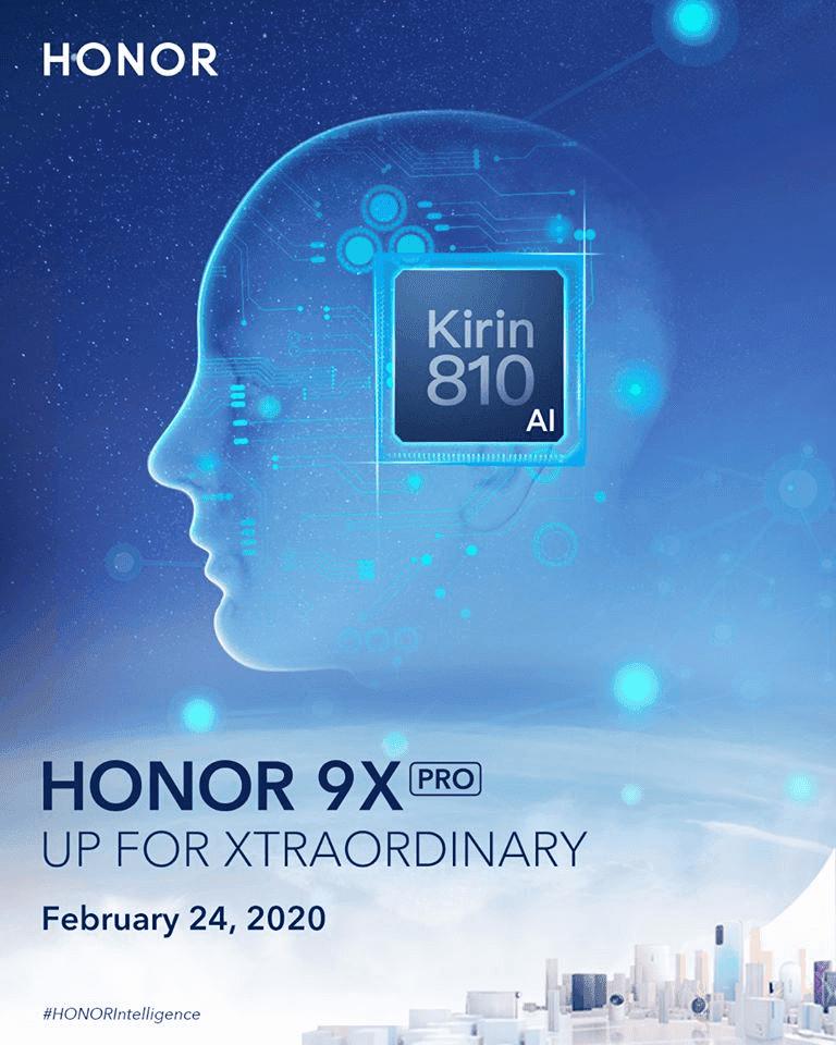HONOR 9X Pro presentación global