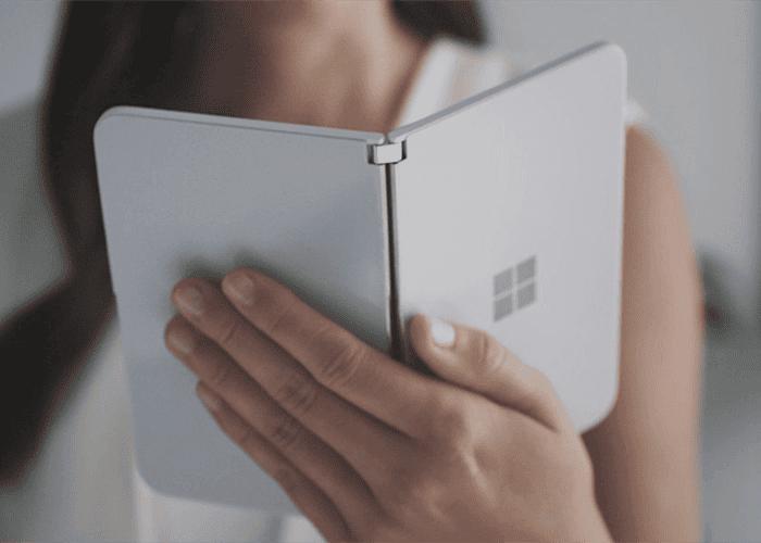 ¿Cómo funcionarán las notificaciones en las dos pantallas del Microsoft Surface Duo?