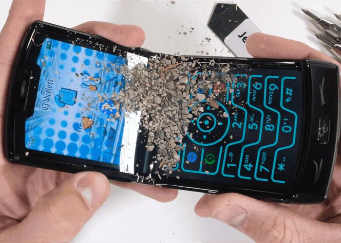 Test de resistencia del Motorola razr ¿Cuánto aguantará?