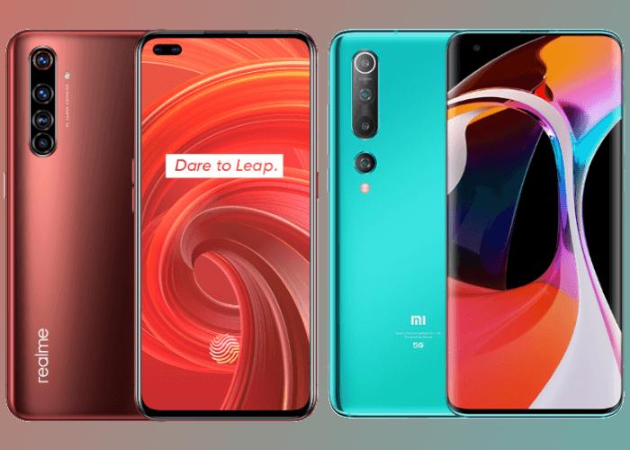 realme X50 Pro 5G vs Xiaomi Mi 10: ¿con cuál te quedas?