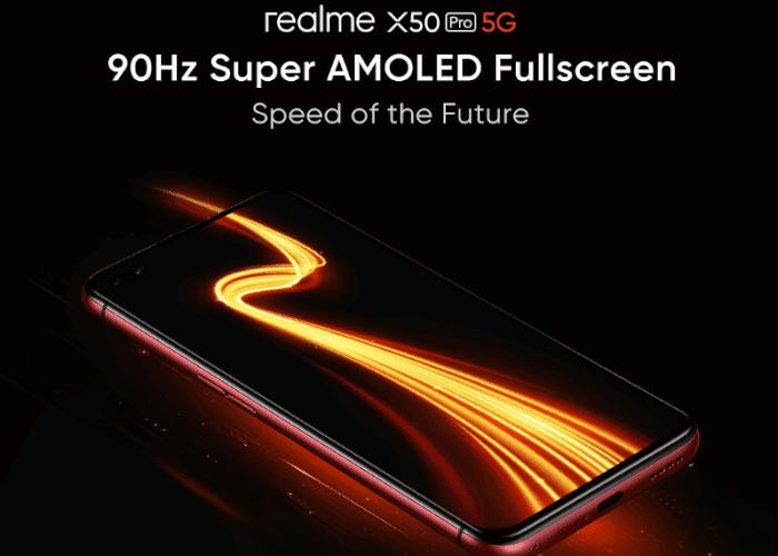 90 Hz y superAMOLED. Así será la pantalla del realme X50 Pro 5G