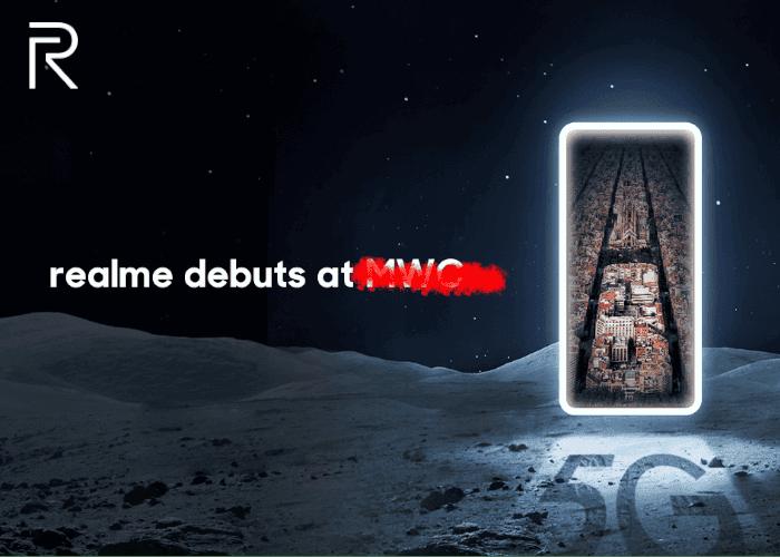El realme X50 Pro 5G se presentará el 24 de febrero de manera online